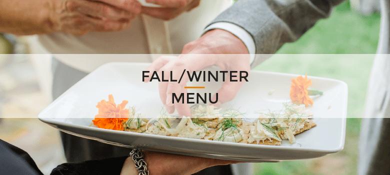 Fall Winter Menu