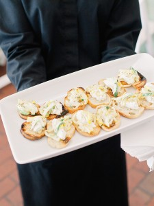 wedding passed appetizers