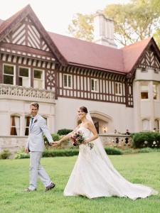 Callanwolde Wedding bride and groom