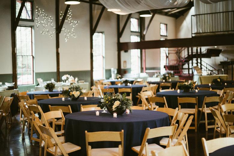 Wedding at the Trolly Barn
