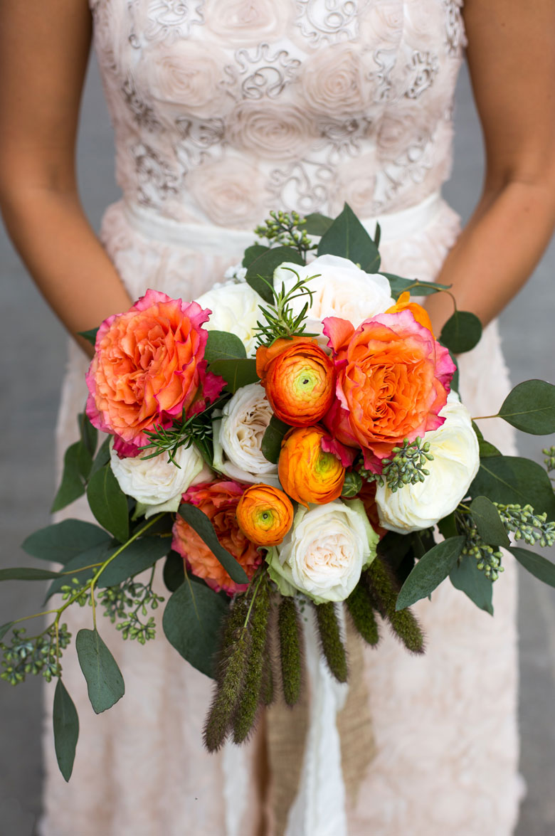 Wild Wedding Floral Arrangements