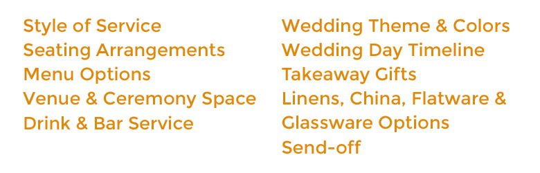 Other Wedding Aspects