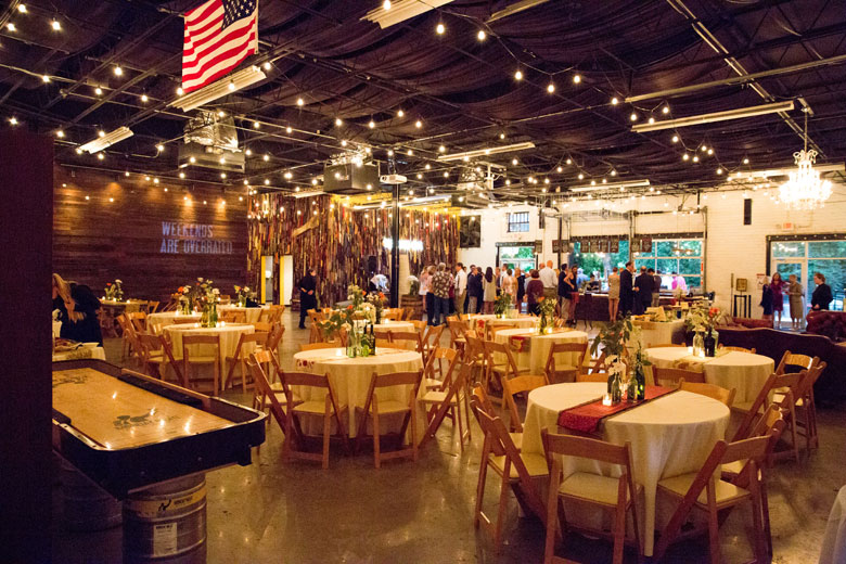 Monday Night Brewing Wedding Avalon Catering