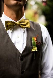 wedding flowers groom