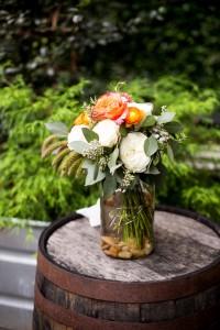 Wedding flowers Monday Night Brewing Atlanta